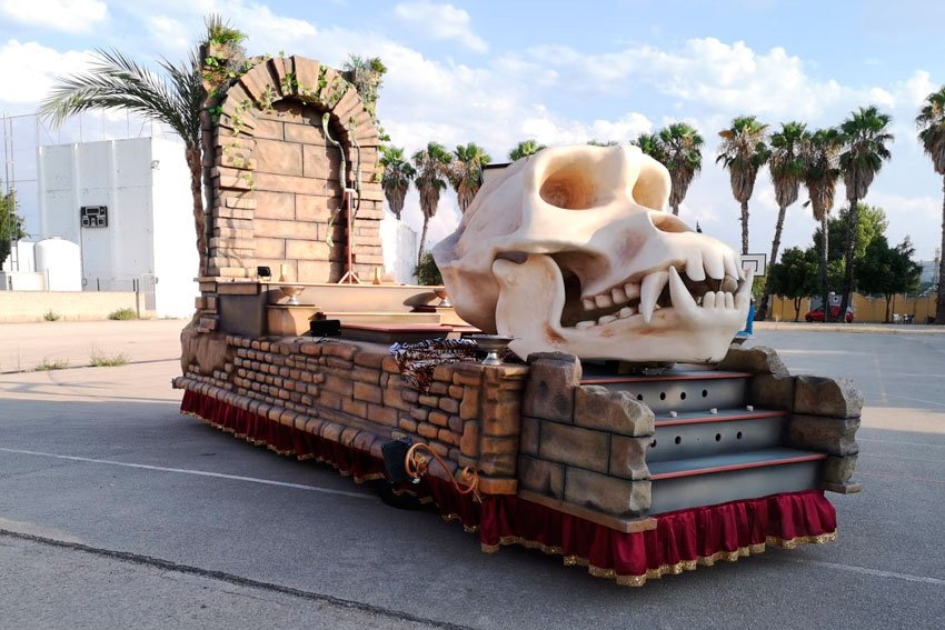 alquilar-carroza-africana-craneo-artscreacions