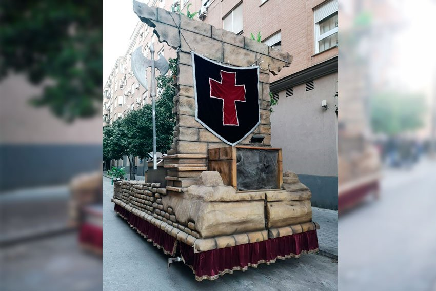 alquilar-carroza-ruinas-cristianas-artscreacions